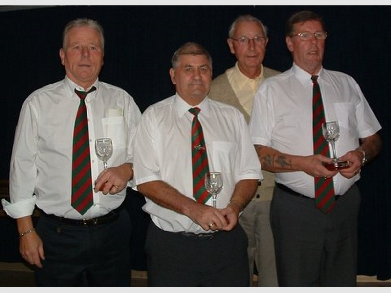 Presentation Night 2005 - Community Cup Runners Up