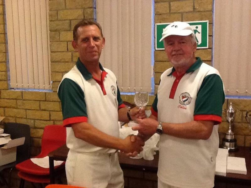 Two Wood Singles winner