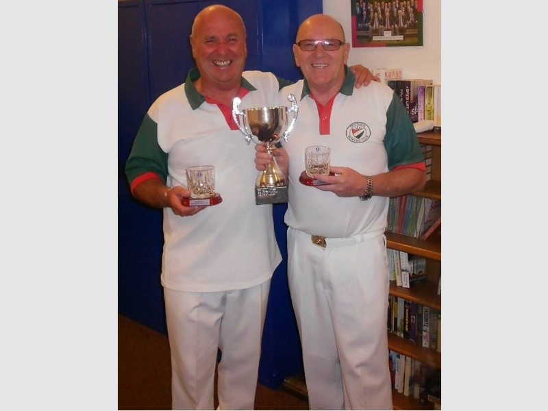 Two Wood Pairs winner